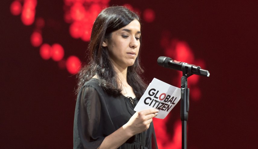 نادیا مراد برنده جایزه صلح نوبل در سال 2018