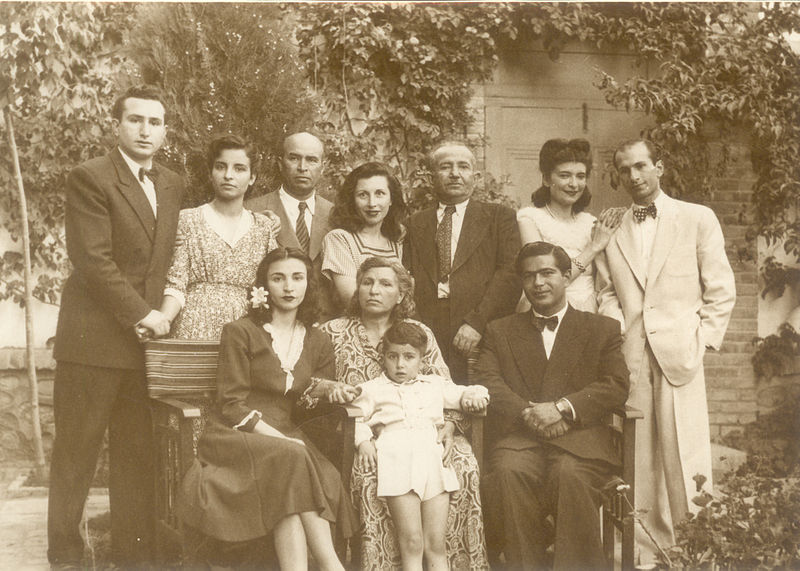 خانواده بیبی خانم استرآبادی